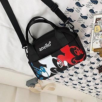 Disney Mickey Mouse Kvinder / Mænd Skulder Messenger Bag - Rejsetaske med høj