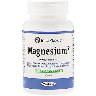 InterPlexus, Magnesium3, 90 Capsules