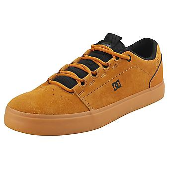 DC Shoes Hyde Mens Skate Trainers in Wheat