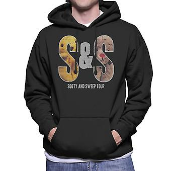Sooty en Sweep S&S Tour Men's Hooded Sweatshirt