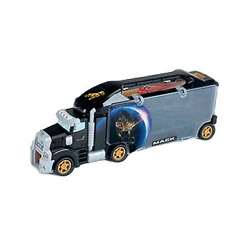 Theo Klein MACK Case Truck with Integrated Exit Ramp Storage for Toy Cars with