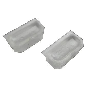 Replacement dust cap cover for game boy dmg-01 link port - clear | zedlabz