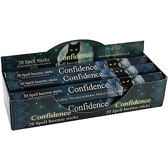 Elements Confidence Spell Incense Sticks (Box Of 6 Packs)