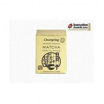 Clearspring - Org Matcha Green tea (tin) 30g