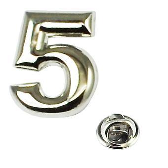 Bånd Planet Nummer 5 Revers Pin Badge