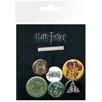 Harry Potter Button Badge Set BL