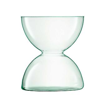 LSA Glassware LSA International Canopy Vase Recycled Handmade 24cm