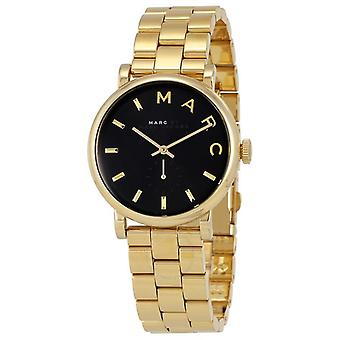Marc Jacobs Baker Black Dial 36mm Ladies Watch MBM3355