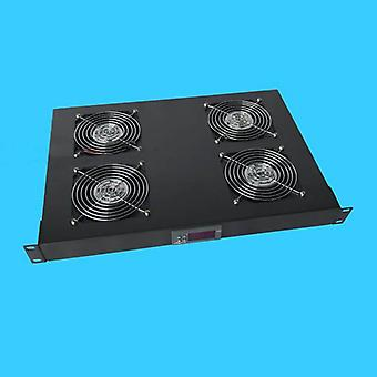 Rack Cabinets Temperature Control Fan Unit Engine Room Ventilation With Controller