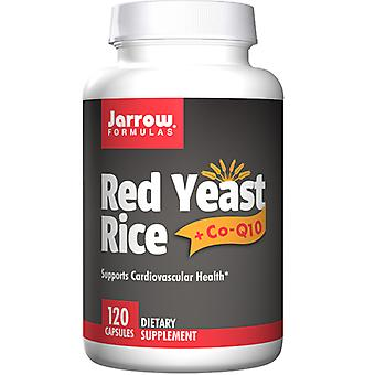 Jarrow Formulas Red Yeast Rice + CoQ10, 1200 mg, 120 Caps