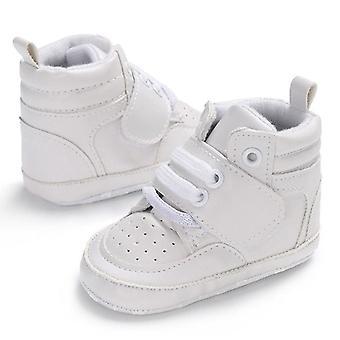 Pudcoco طفل فتاة بوي الأحذية الدافئة الناعمة، طفل حديث الولادة الرضيع المضادة للانزلاق سرير
