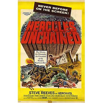 Hercules Unchained Movie Poster (11 x 17)