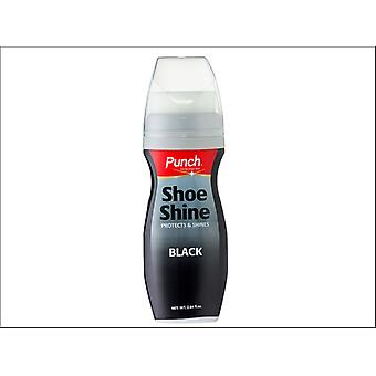 Punch Shoe Shine Black 75ml