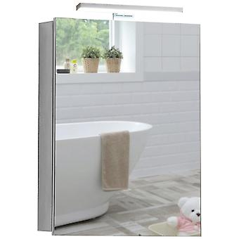 LED Bathroom Mirror Cabinet 70cm(H) x 50cm(W) x 15cm(D)  C25