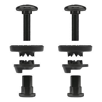 Union Bindings Ankle Hardware Set - Black