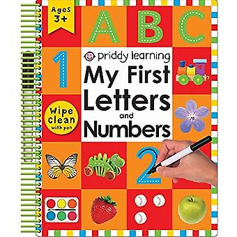 My First Letters and Numbers (Wipe Clean Spirals)