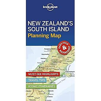 Lonely Planet New Zealand's� South Island Planning Map (Map)