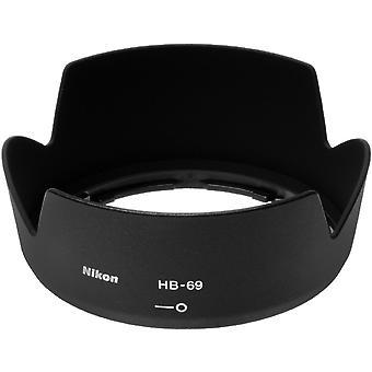Nikon hb-69 capa de lente de baioneta - só se encaixa na lente nikon 18-55mm g vr ii dx af-s