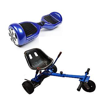 BLUEFIN™ 6.5″ CLASSIC HOVERBOARD SWEGWAY IN BLUE + SILI OFFROAD KART BUNDLE