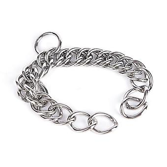 1pc Stainless Steel Double Link Curb Chain For Pet Horse Bits