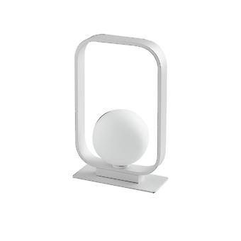 Tafelbol lamp frame, wit, G9