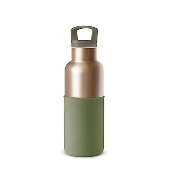 Metallic Fir Stainless Steel Thermal Water Bottle