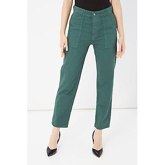 Green Jeans Please Woman