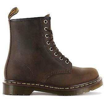 DR.DOC MARTENS 1460 CRAZY HORSE - Women's Boots Boots Gaucho-Braun 11822203 Sneakers Sports Shoes