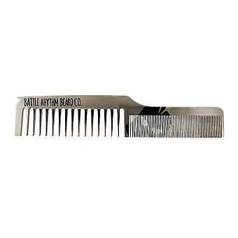 Dual Tooth Stainless Comb