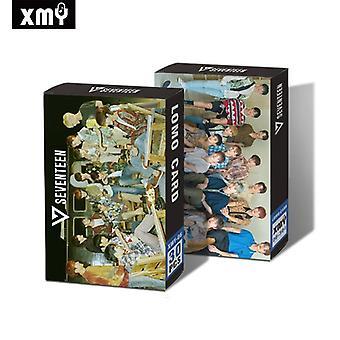 Lomo Card Sedmnáct Red Velvet Nct Monsta X Album Plakát HD Photocard K-pop