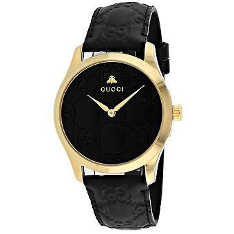 Gucci Men's G-Timeless Black Dial Watch - YA1264034A
