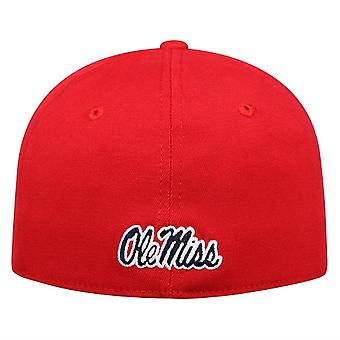 Ole Miss Rebels NCAA hinata Punainen Premium Collection Memory Fit Hat