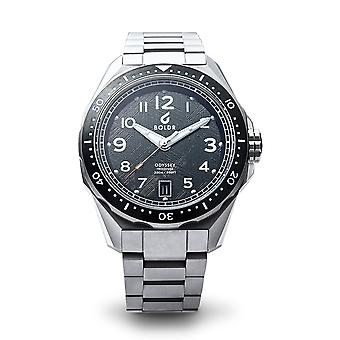 BOLDR ODYSSEY FREEDIVER METEO113 Automatic Black Dial Wristwatch