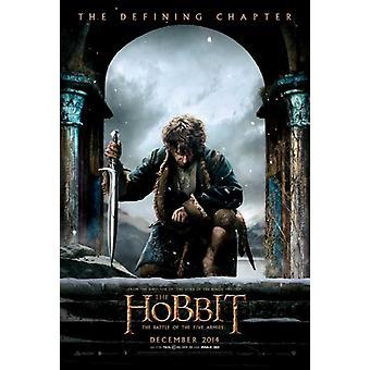 Le Hobbit de la bataille de l'affiche du film cinq armées (11 x 17)