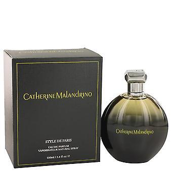 Style De Paris Eau De Parfum Spray By Catherine Malandrino 3.4 oz Eau De Parfum Spray