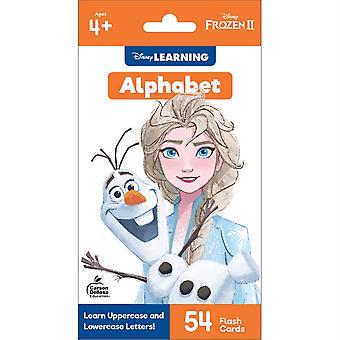 Frozen 2 Alphabet Flash Cards, Grado Pk-1