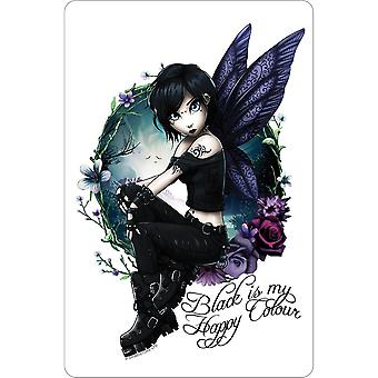 Hexxie Black Is My Happy Colour Paige Plaque