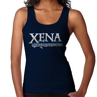 Xena Warrior Princess Blå Logo Kvinnor's Väst