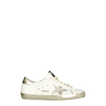 Golden Goose Gmf00101f00031610272 Men's White Leather Sneakers