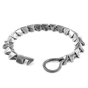ANCHOR & CREW Brixham Maxi Silver Kedja Armband