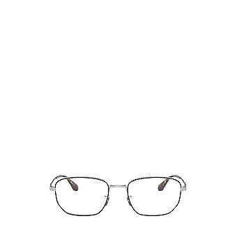Prada PR 52WV black / silver male eyeglasses