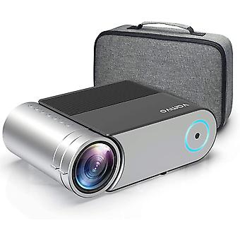Mini Projector Support 1080p, Portable Video Projector 5500 Lux