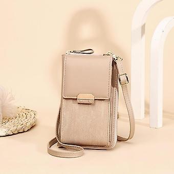 Designer Phone Pocket Small Shoulder Bags Pu Leather Female Ladies Mini