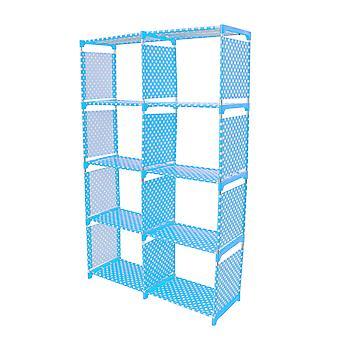 1pc Storage Rack Beautiful Library Bookshelf For Book Sundries Ornaments School