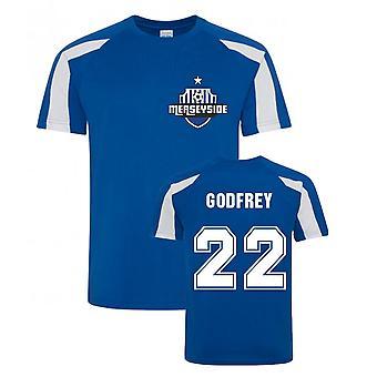 Ben Godfrey Everton Urheiluvalinnan Jerset (sininen)