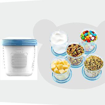 180 ml babybröstmjölk lagringsflaska med stor kaliber mat frysbehållare