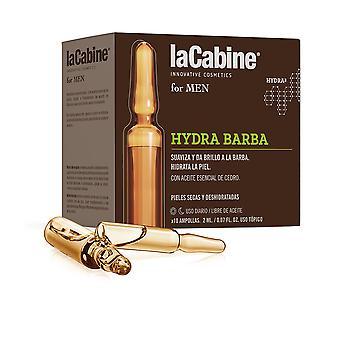 La Cabine La Cabine för herrar Ampollas Hydra Barba 10 X 2 ml För herrar
