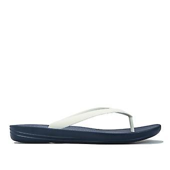 Men's Fit Flop Iqushion Ergonomic Flip Flops in Blue