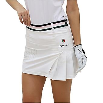Saia curta plissada lady golf
