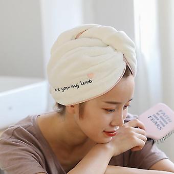 Lady's Magic Dry Hair Towels